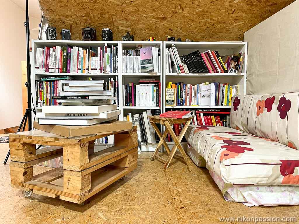 Créeer un espace photographie à domicile chez soi