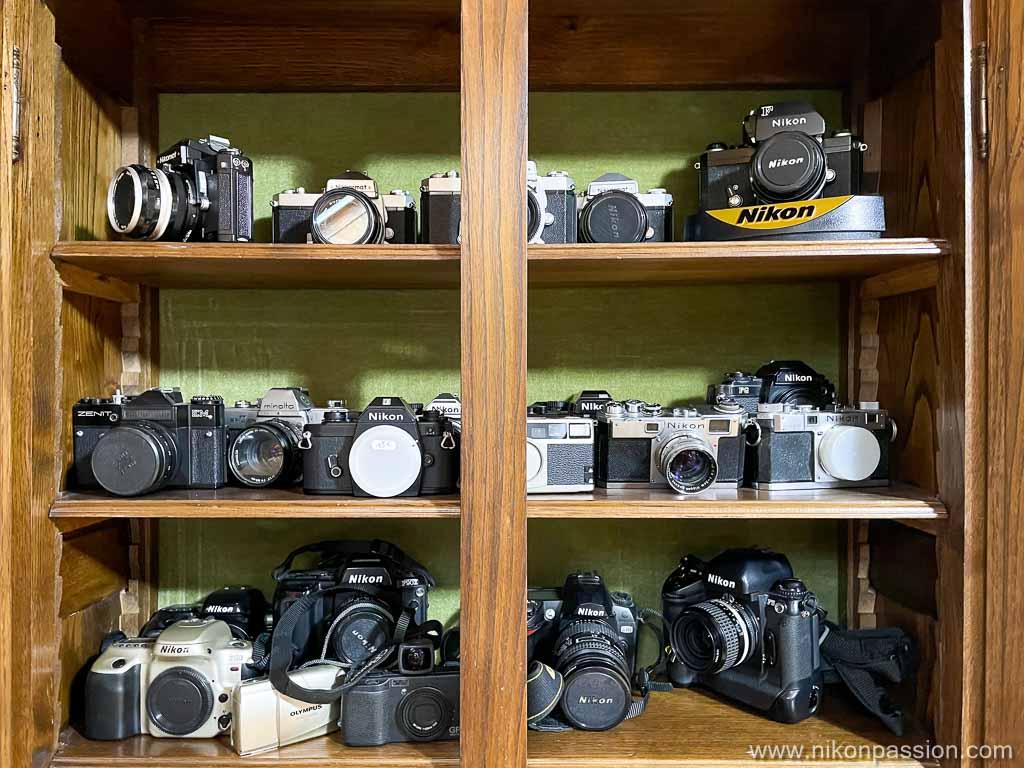 Collection argentique Nikon