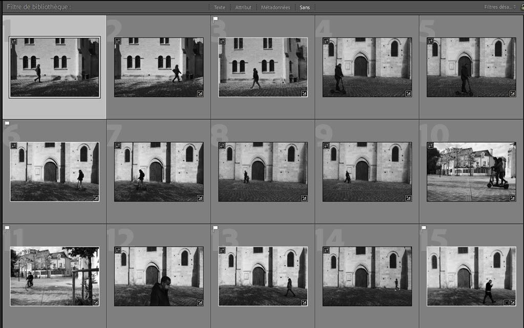 Trier les photos en double, les doublons