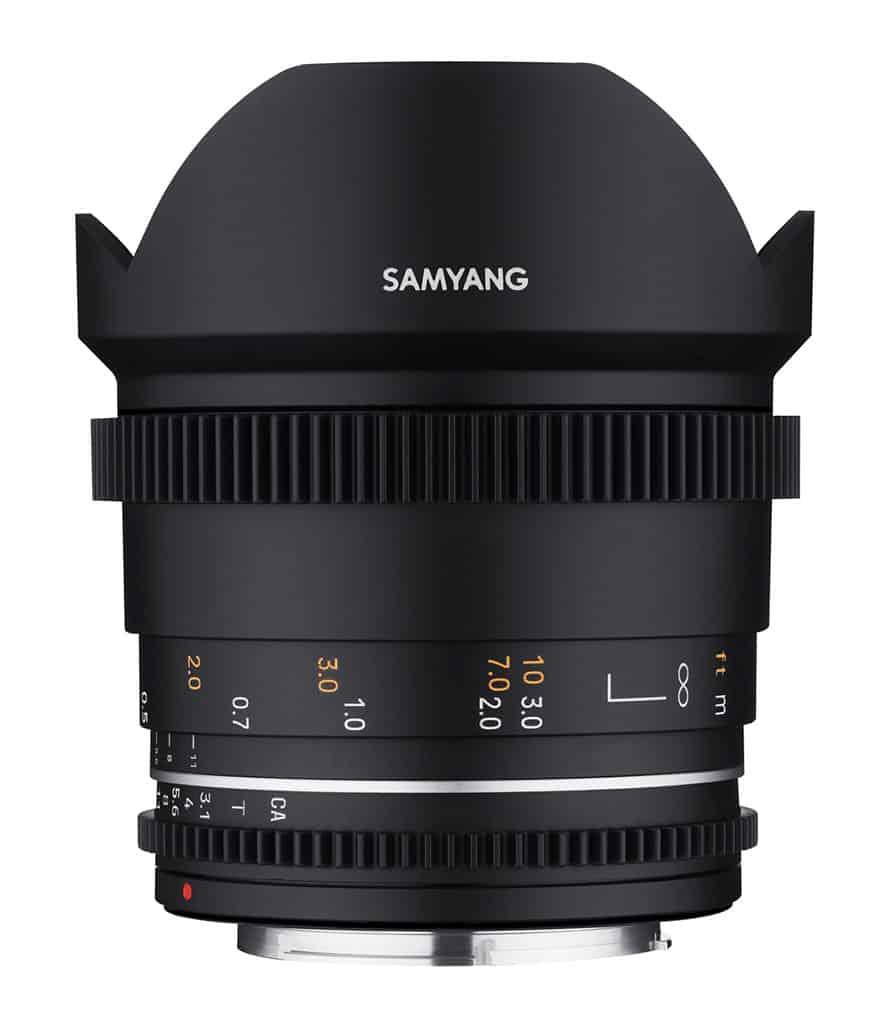 Samyang 14 mm f/3,1 VDSLR II