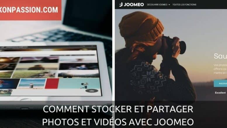 Comment stocker et partager photos et vidéos avec Joomeo