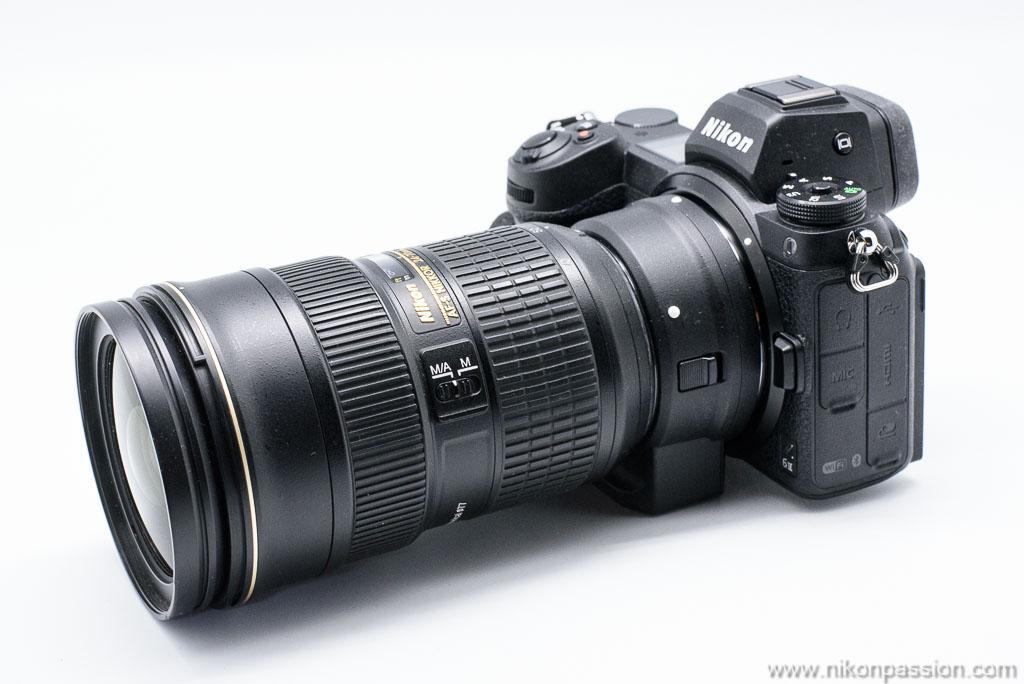 Nikon Z 6II + Nikon AF-S 24-70 mm f/2.8 + FTZ