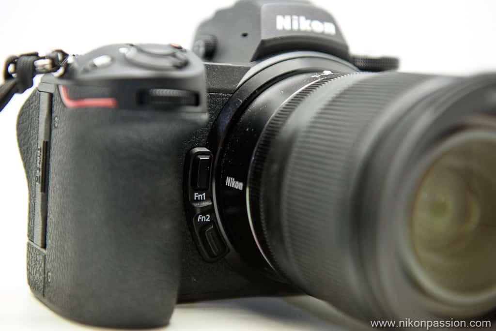 Nikon Z 6II touches de fonction