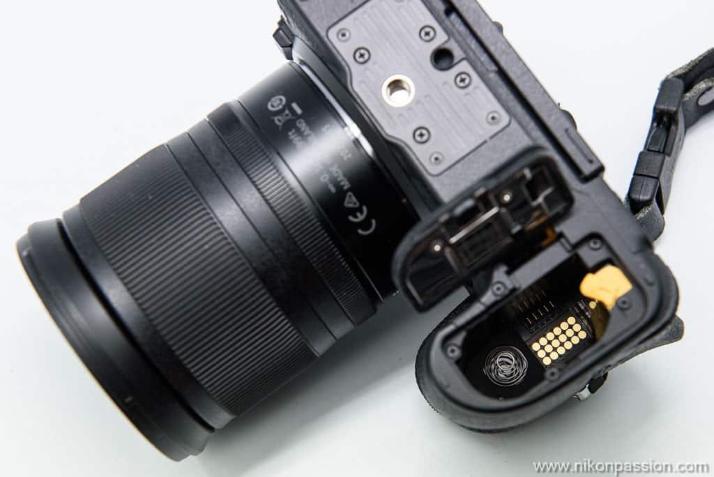 connecteur pour poignée grip Nikon Z 6II