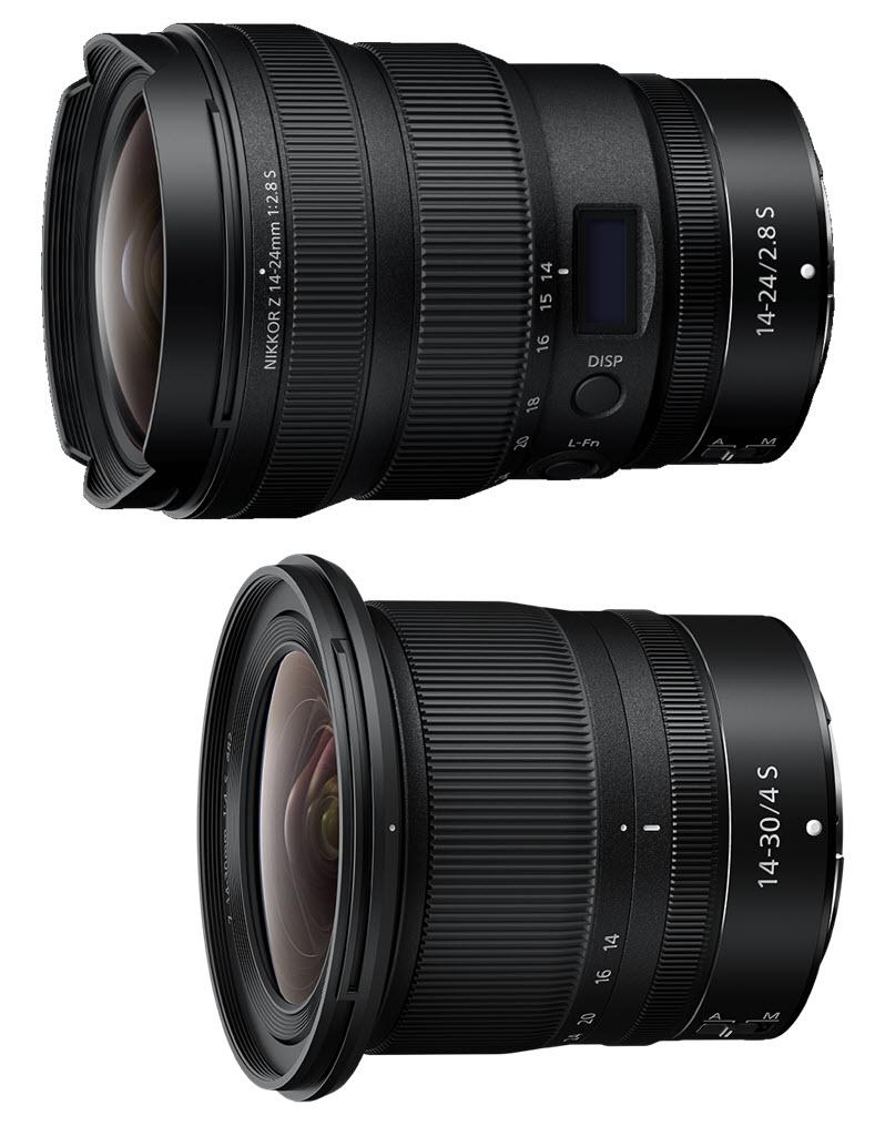 comparaison NIKKOR Z 14-24 mm f/2.8 S vs. NIKKOR Z 14-30 mm f/4 S