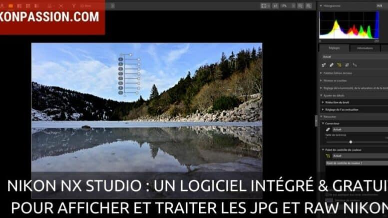 Nikon NX Studio : un logiciel intégré gratuit pour afficher et traiter les JPG et RAW Nikon