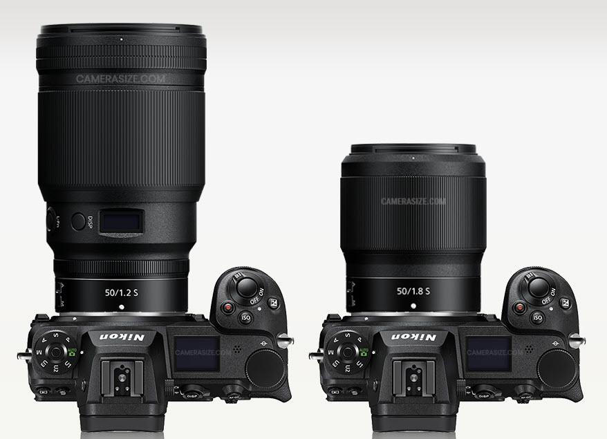 Comparaison Nikon NIKKOR Z 50 mm f/1.2 S vs. NIKKOR Z 50 mm f/1.8 S
