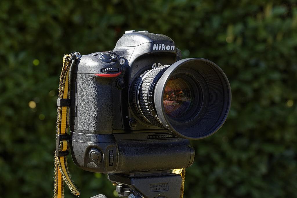 Nikon NIKKOR AI-S sur reflex Nikon numérique