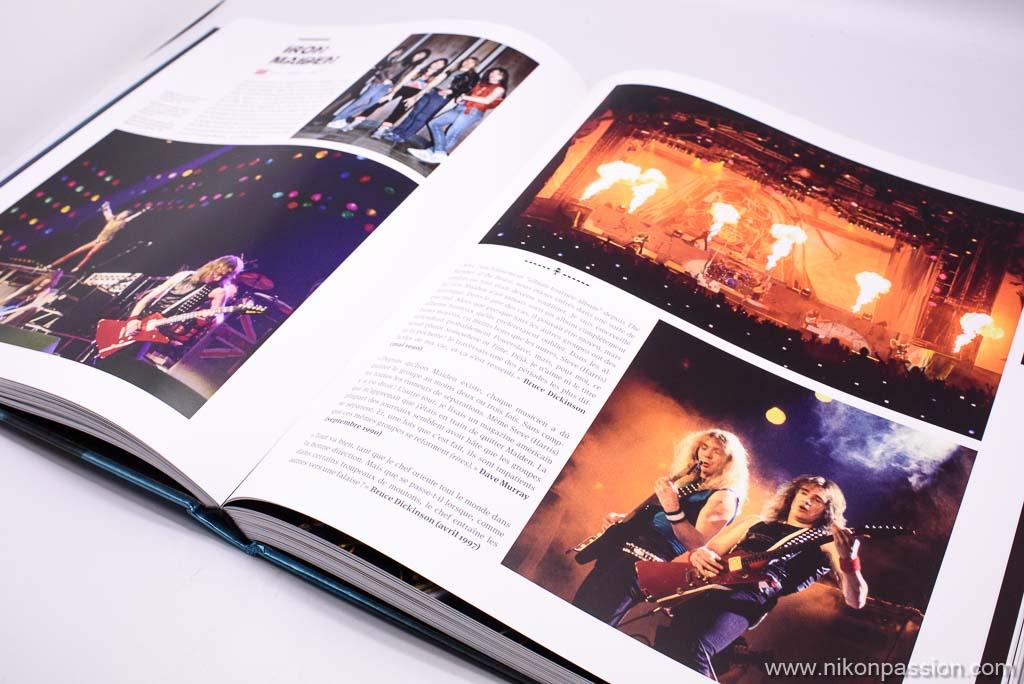 Photos de concerts Metal, l'encyclopédie par Bertrand Alary et Jean-Pierre Sabouret