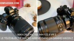 NIKKOR Z MC 105 mm f/2.8 VR S