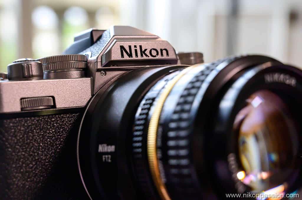Nikon Z fc capot supérieur
