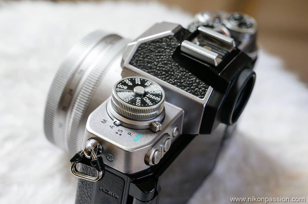 Nikon Z fc molette PSAM