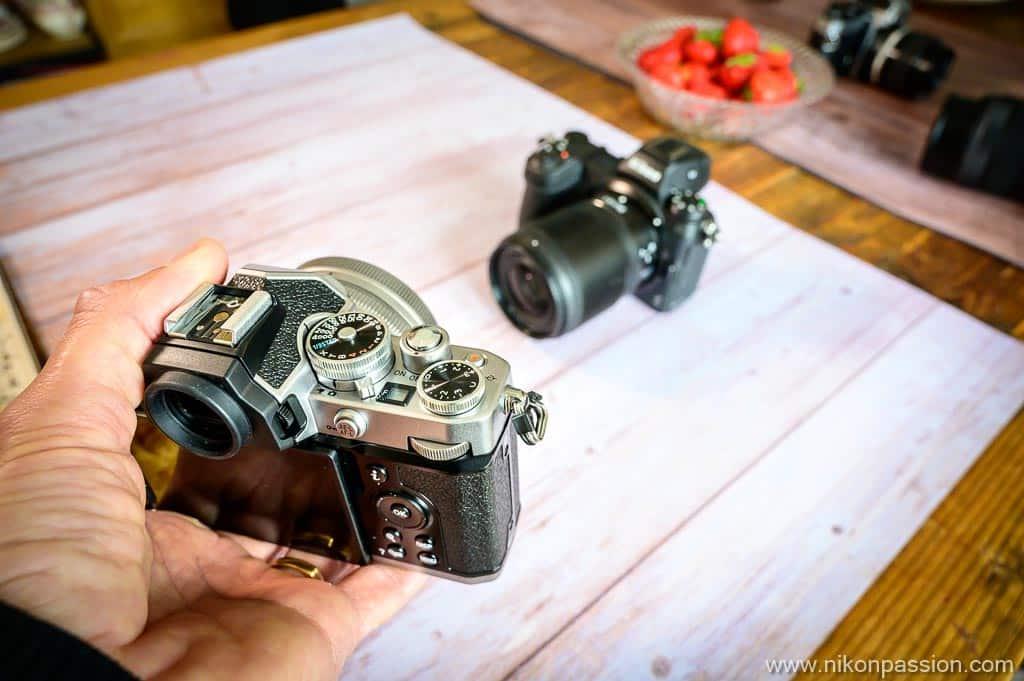 taille Nikon Z fc