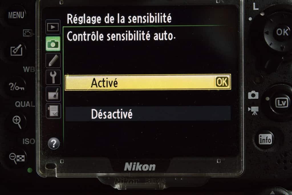 Comment régler l'ISO-Auto sur un reflex ou hybride Nikon