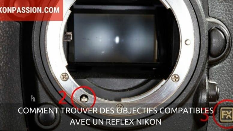 objectifs compatibles avec un reflex Nikon