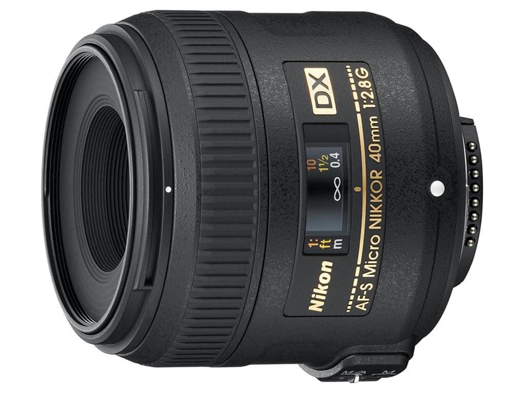 Macrophotographie, Nikon AF-S DX Micro NIKKOR 40 mm f/2.8