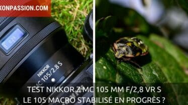 Test NIKKOR Z MC 105 mm f/2,8 VR S : le 105 Macro stabilisé en progrès ?